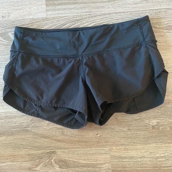 Lululemon black shorts. Size 4